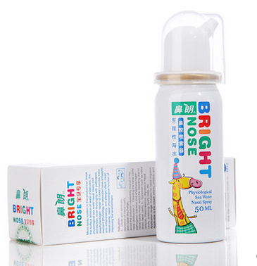 鼻朗生理海水鼻腔喷雾的使用方法